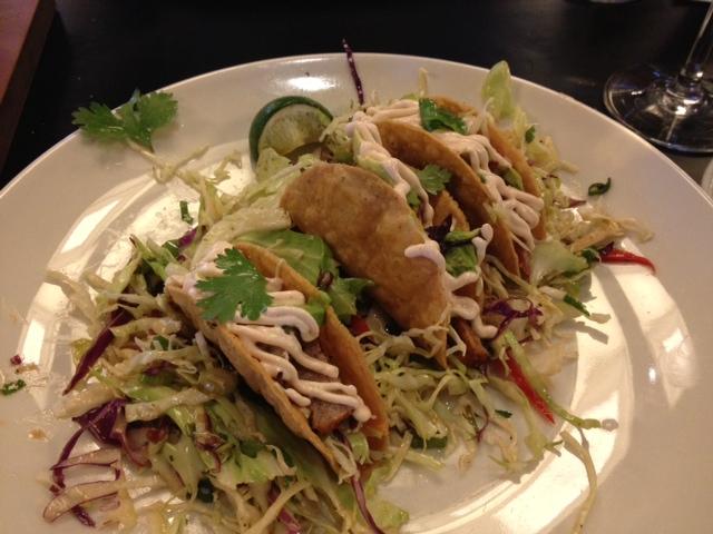 Life Balance ahi tuna tacos