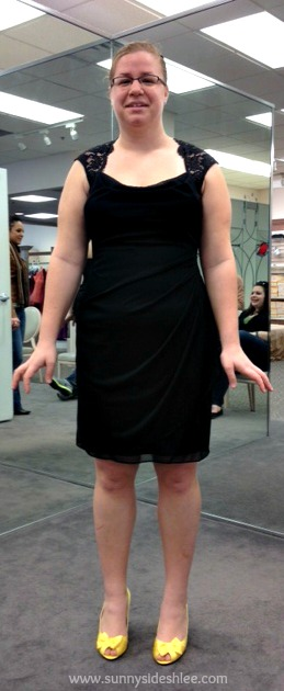 front of first dress i liked
