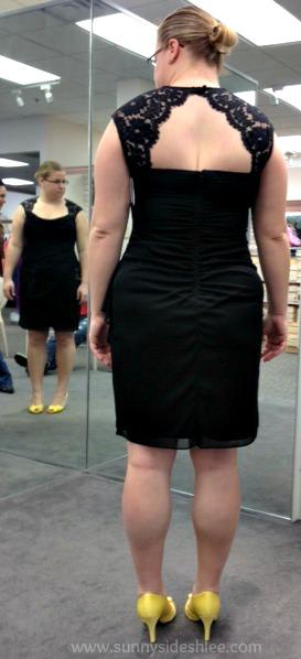 back of same dress