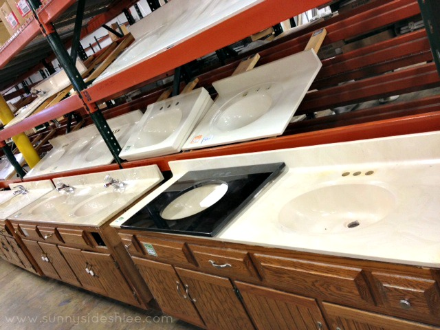 sinks at restore
