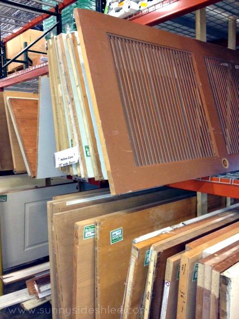door selection at restore